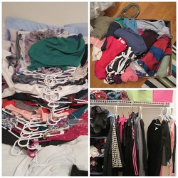 clothes collage